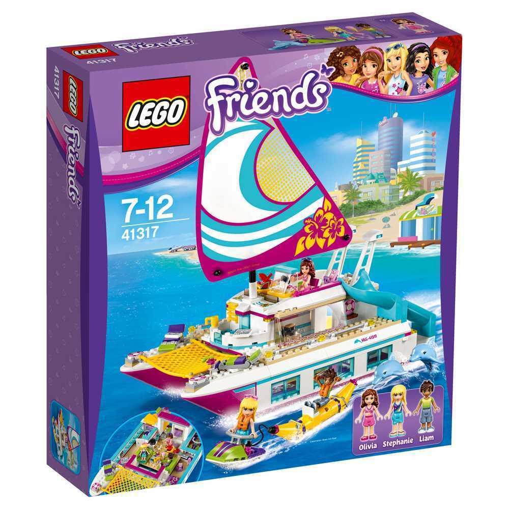 LEGO Friends Sonnenschein-catamarano   41317 NUOVO-CONFEZIONE ORIGINALE