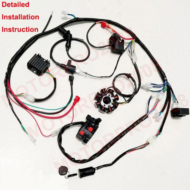 kandi 150cc engine wiring diagram buggy wiring harness loom gy6 150cc atv stator electric start  buggy wiring harness loom gy6 150cc atv