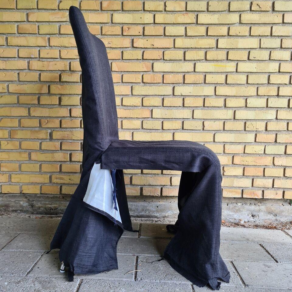 Spisebordsstol, Metal & polyester, Ukendt