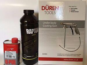 UPOL-Raptor-BLACK-Tough-Urethene-Coating-Truck-Bed-Liner-Underbody-Spray-Gun