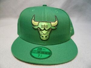 New-Era-59fifty-Chicago-Bulls-Color-Prism-Pack-BRAND-NEW-Fitted-cap-hat-green