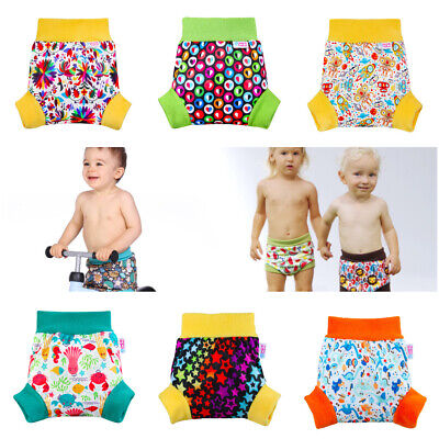 Petit Lulu Pull Up Cloth Nappy Wrap Watermelon Reusable Cloth Nappies Made in Europe Size L Washable Diaper Wrap