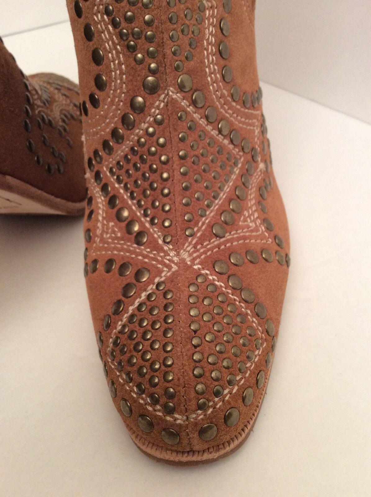 Donald J Pliner Olivia Saddle color Suede Suede Suede Boots Size 7M NEW 4e229e