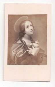 Vintage-CDV-Religious-Paintings-Images-from-the-1860-039-s-Europe
