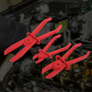 3x-Mechanic-Nylon-Hose-Pipe-Clamp-Kit-Brake-Fuel-Water-Line-Plier-Hands-Free