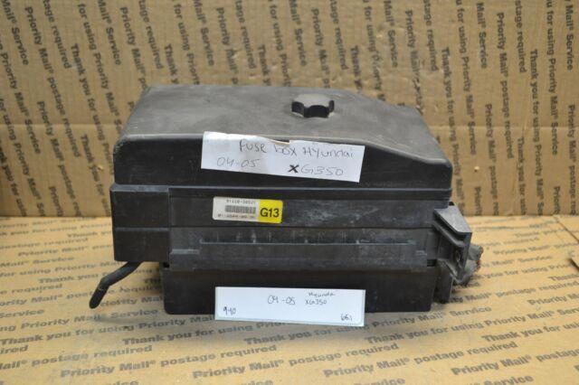 2004 2005 Hyundai XG350 Fuse Box Junction OEM 9122039521 ...