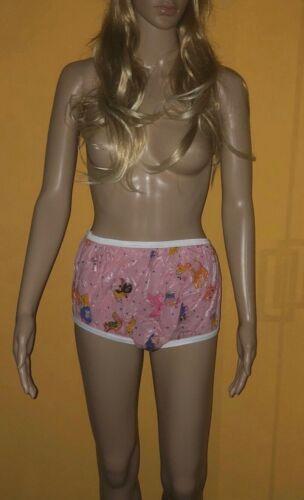 PVC Vinyle Gummihose-adult baby-Culotte print//motif Size. M