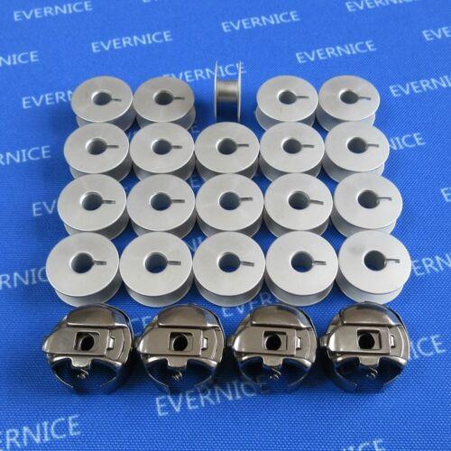 20 Bobines nº XC7206001 541678 pour Babylock EMP6 4 Pigtail Pcs cas de