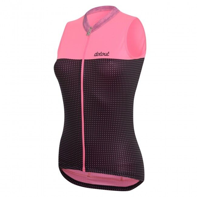 DOTOUT DOTS donna cycling running fitness sleeveless Jersey A17W080 Dimensione S