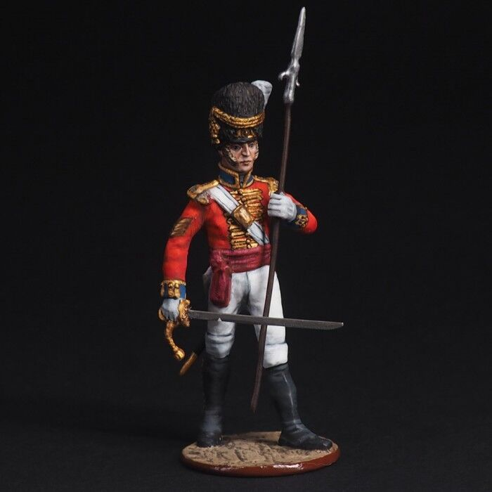 Tin soldiers, 54mm, Officer of Grenadiers. England