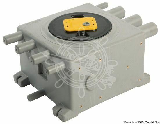 WHALE Grauwassertank 8 L mit eingebautem IC-Sensor G2