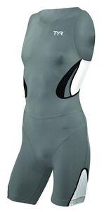 TYR-Men-039-s-Carbon-Zipper-Back-Short-John-Trisuit-W-Pad