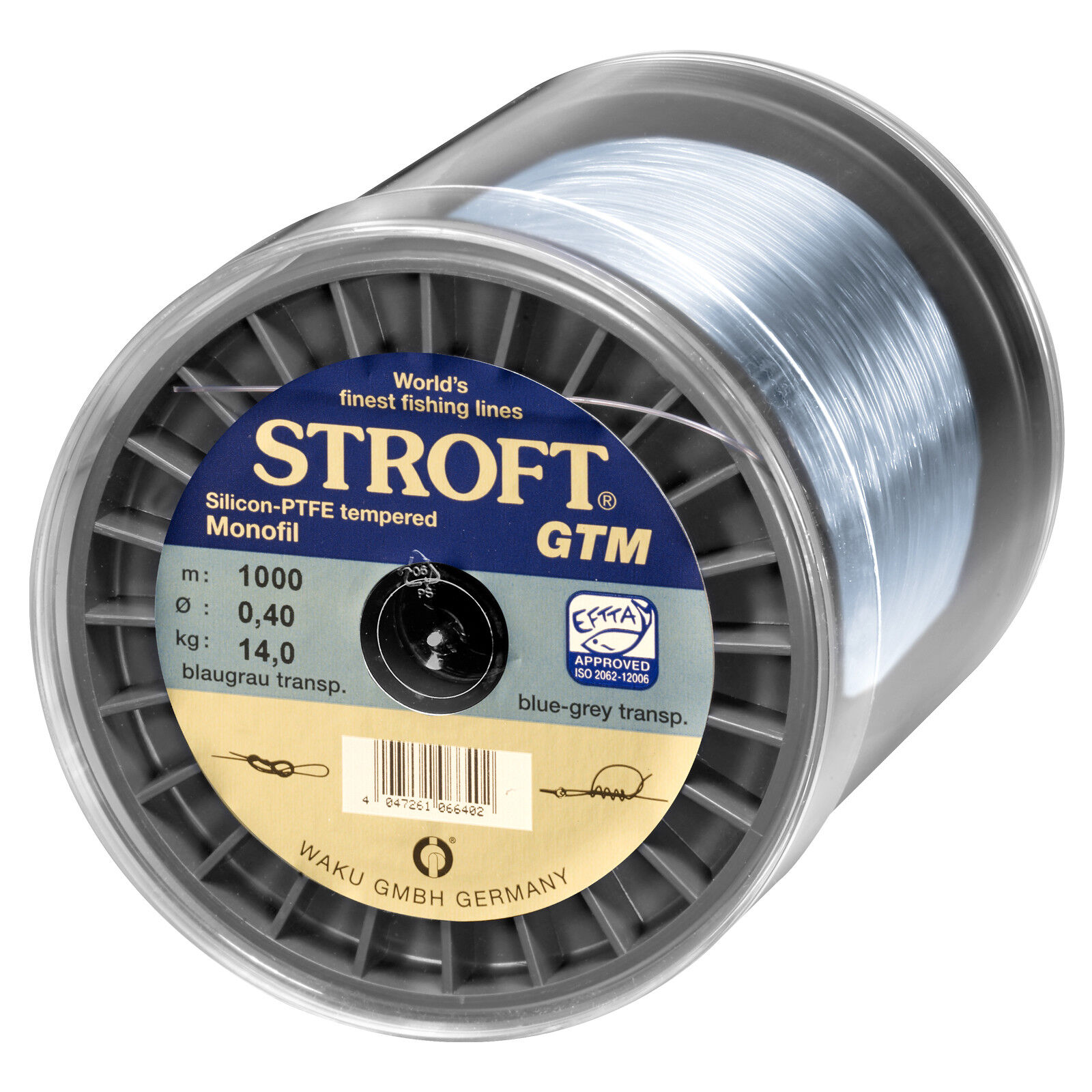 (0,05eur m) stroft monofili lenza se GTM 0,22 1000m