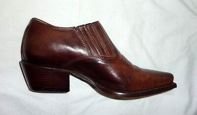 Charlie 1 Horse I6267 Lucchese Size 6B Womens Medium Western Shoe Boot WALNUT