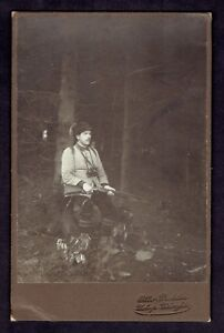 Cabinet-Photo-Men-w-Rifle-Hunter-and-Dog-2857