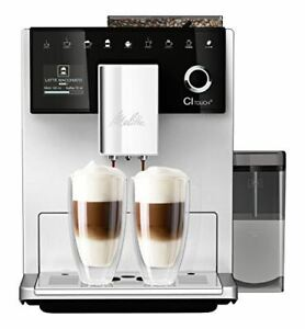 Melitta CI TOUCH F630-101 Bean to Cup Coffee Machine, 1400 W, 1.8 Litres, Silver