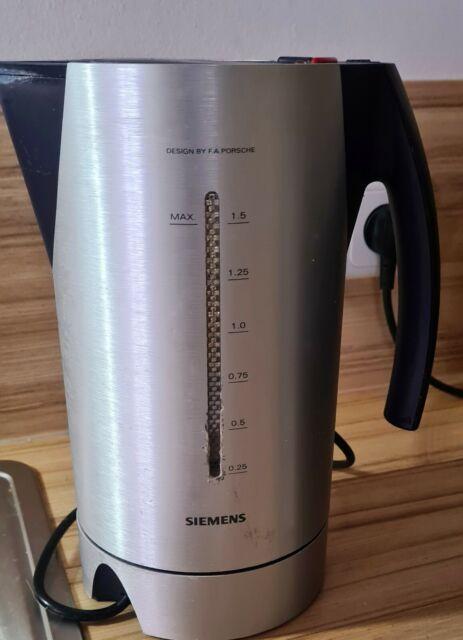 Siemens TW911P2 Wasserkocher Porsche Design II kgjndjlkgjdlk