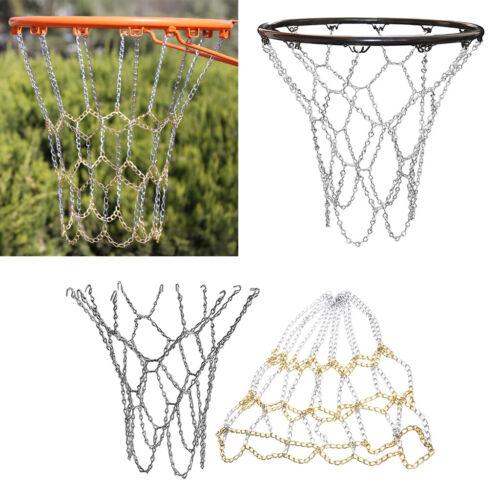 Basketballnetz Metall Korbnetz Anti-Rost Basketball Ketten Netz aus Verzinktem