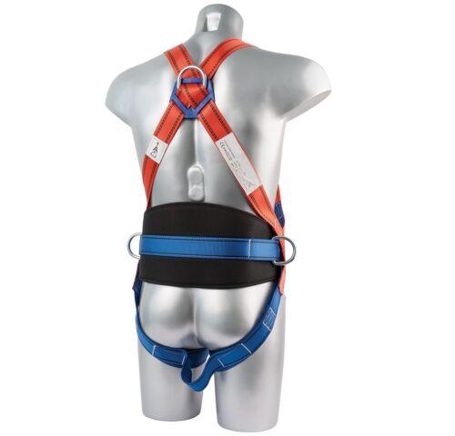 SET Auffangsystem 5in1 Gurt Falldämpfer Seil Bremse Fallschutz Absturzsicherung