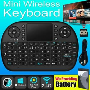 Details about Smart Slim Mini Wireless Keyboard With Touchpad Mouse 2 PC  Laptop Android TV BOX