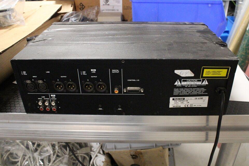 Tilbehør, Tascam CD-A700, Rimelig