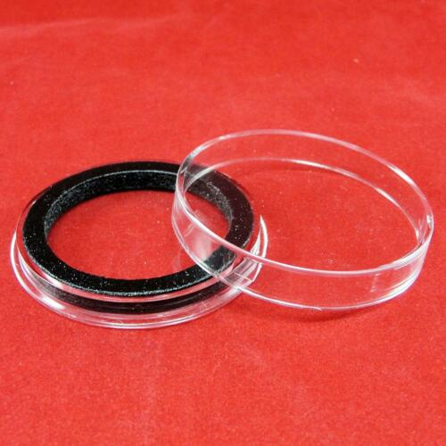 25 Air-Tite X6Deep 39mm Ring Coin Holder Capsules for 2 oz High Relief Coins
