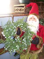 Oregon Juniper Berry Cedar Bough 8 Candle Ring Christmas Small Wreath