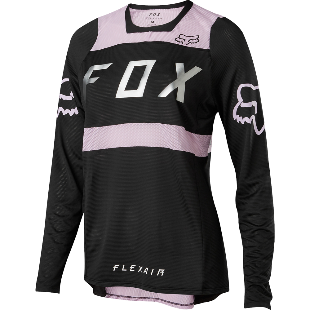 Fox Racing 2018 Wouomo Flexair lungo Sleeve Jersey violac