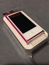 Apple iPod Nano 7th Gen Pink (16GB) DEMO Model - Brand New UK Version!