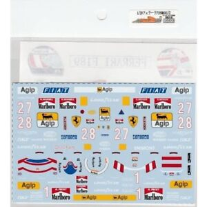 Museum-Collection-1-20-Ferrari-F189-amp-641-2-Decal-for-Fujimi-amp-TAMIYA-D610