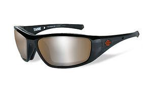 e368452f7273 Harley-Davidson® Wiley-X Tank Black Sunglasses w  PPZ Copper Flash ...