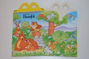 0109-McDonald-039-s-Happy-Meal-Box-empty-Bambi-Classic-McDonalds