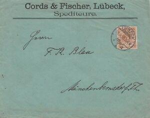 Briefumschlag-Jahr-1898-verschickt-von-Luebeck-nach-Muenchenbernsdorf