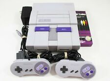 Super Nintendo Entertainment System Launch Edition Gray Console