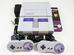 Super-Nintendo-SNES-System-Console-With-2-Controllers