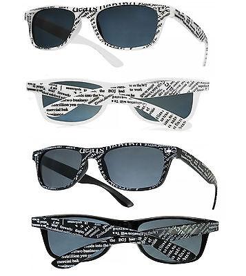 Damen Herren Klassisch Quadrat Mode Sonnenbrille Brille Buntglas