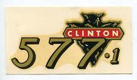 Clinton Engine Chainsaw 577-1 Decal