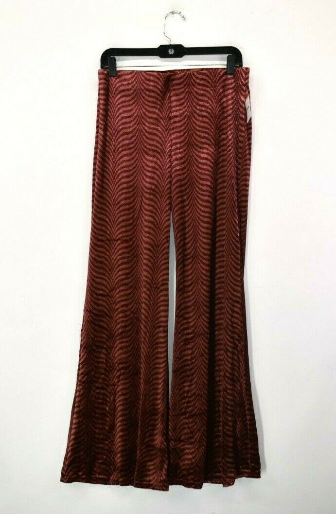 Free People Boho Women's Small Red red 44284438 Pants  98 Retail