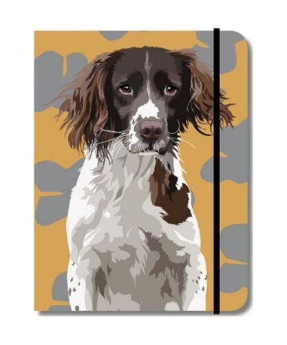 Springer Spaniel Gundog Design A6 Pocket Notepad notebookShooting Gift