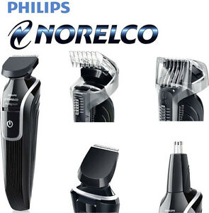 new philips norelco multigroom cordless kit rechargeable beard shave ear trim. Black Bedroom Furniture Sets. Home Design Ideas