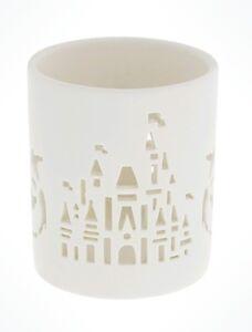 """REDUCED Disney Parks Cinderella Candle Holder or Vase Ombre Blue 6.5/"""" x 3.5/"""""""