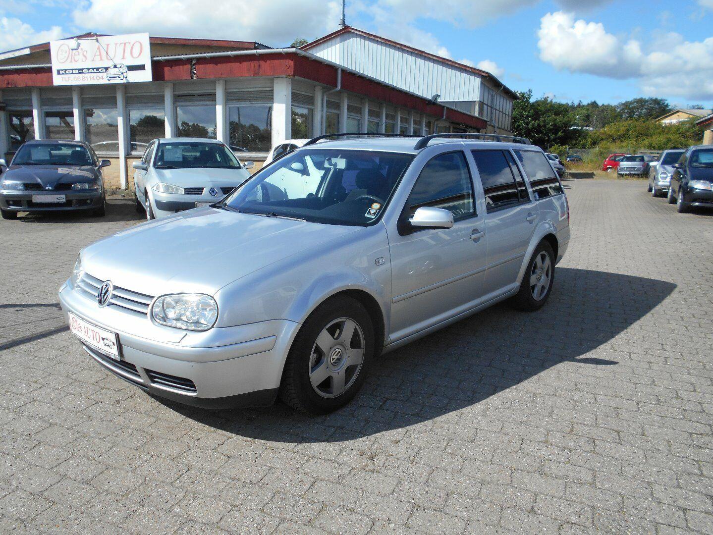 VW Golf IV 2,0 Variant 5d - 34.900 kr.