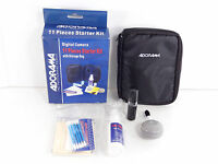 Adorama Digital Camera 11 Piece Starter Kit With Storage Bag C2