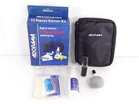 Adorama Digital Camera 11 Piece Starter Kit With Storage Bag C2