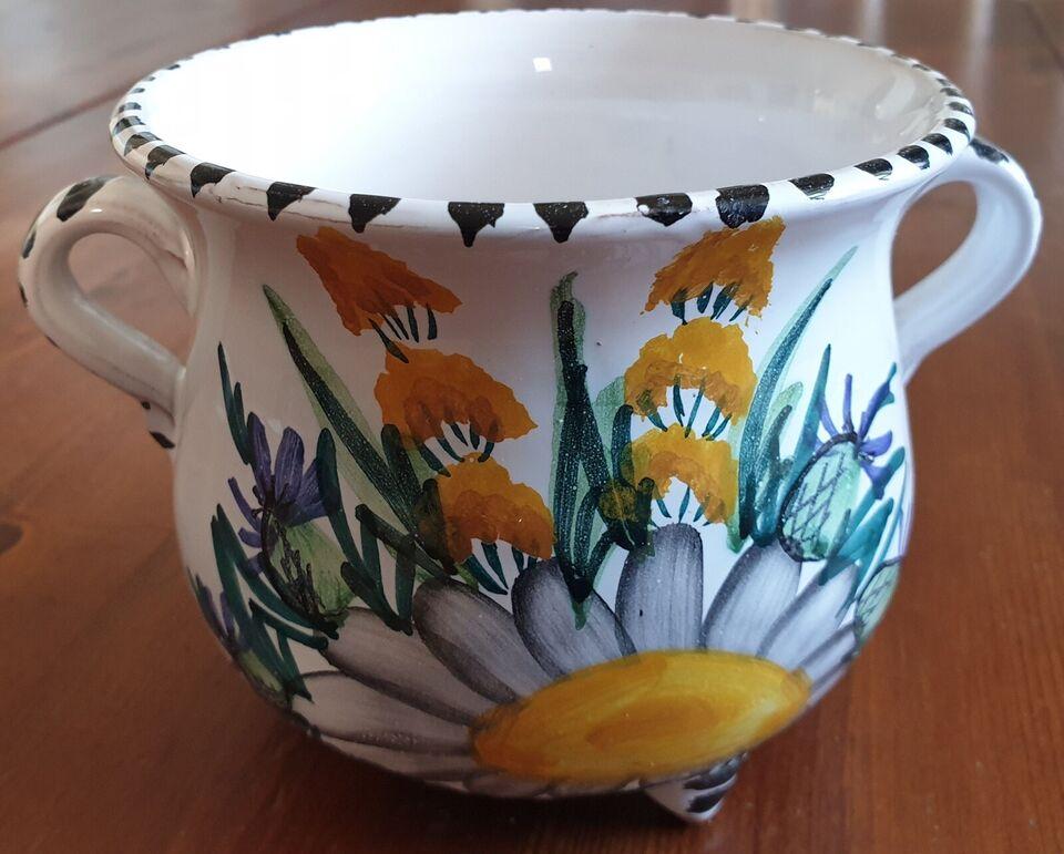 Urtepotteskjuler, Keramik, 70 år gl.
