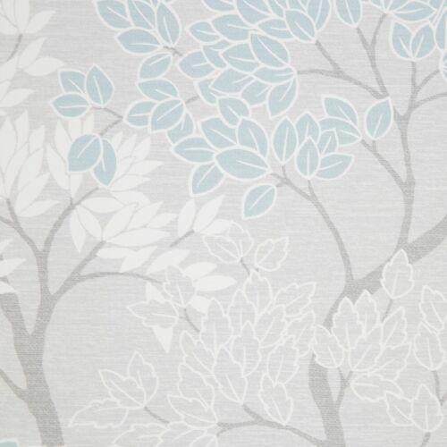 Fresco Lykke Tree Sky Blue Floral Wallpaper