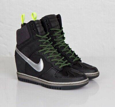 Wmns Nike Dunk Sky Hi snkrbt Sneakerboot 2.0 684954 001   eBay