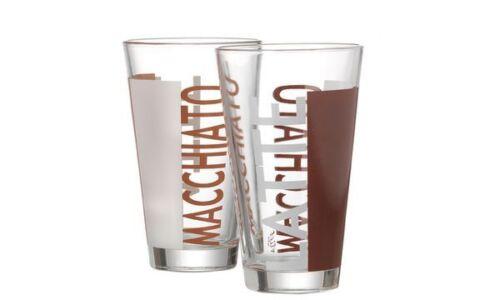 "#6xFlirt by R /& B Latte-Macchiato-Glas /""Coffeeparty/"" 0,33 l"