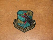 us airforce strategic air command patch