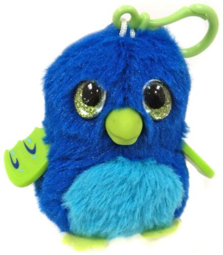 Hatchimals 3.5-Inch Mini Plush Clip-On Blue